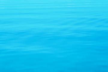 soft focus blue sea texture background