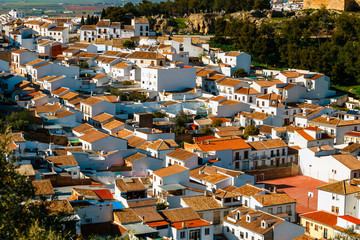 Historic village of Antequera in Andalusia, Spain