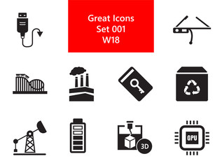 Innovations Icons Set