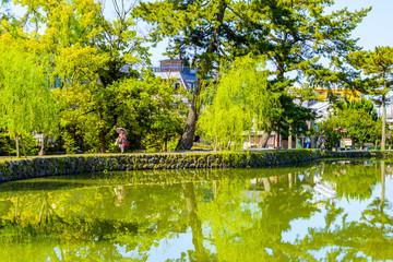 奈良の猿沢池