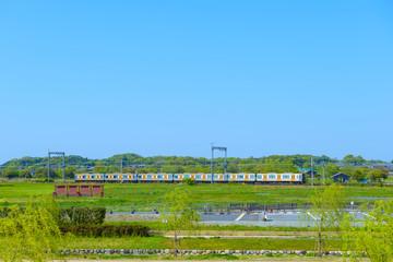 近鉄奈良線の風景