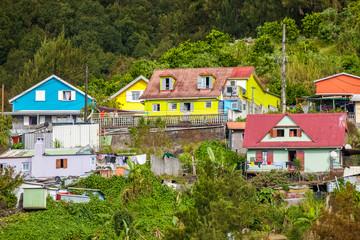 maisons créoles, Hell-Bourg, Salazie, île de la Réunion