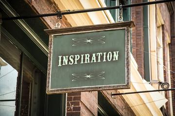 Schild 320 - Inspiration