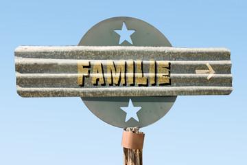 Schild 331 - Familie