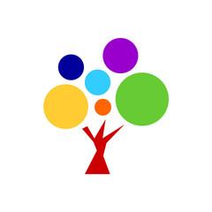 7 chakra color icon symbol logo sign, flower floral, vector design illustration concept drawing