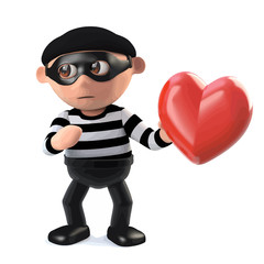3d Burglar has stolen someones heart