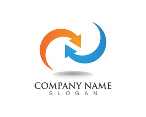 Finance logos template vector