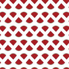Vector watermelon icon pattern
