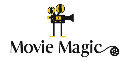 Cinema Movies Logo Design