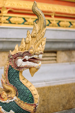 Dragon in Thailand temple