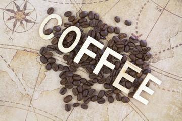 Tuinposter koffiebar grains de café