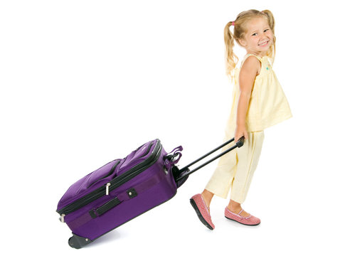 Vacation: Girl Ready To Go On Vacation