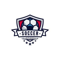 Soccer Logo, American Logo Sports vector illustration
