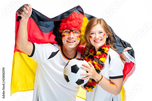 Fussball Fans Deutschland Stock Photo And Royalty Free