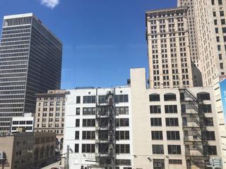 Downtown Detroit buildings