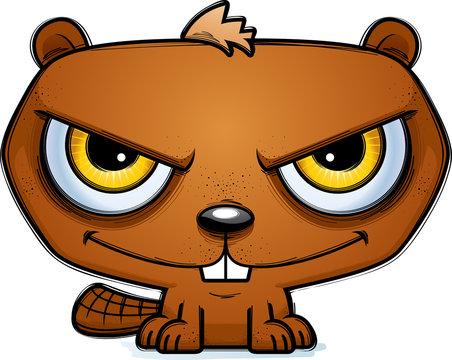 Sinister Little Cartoon Beaver