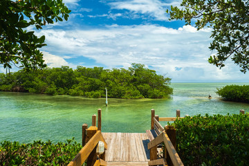 Beautiful view of the Florida Keys.