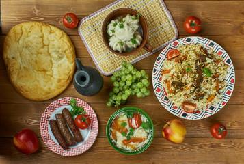 Turkmen cuisine, Central Asian cuisine