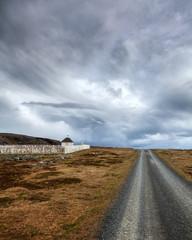 Alter Friedhof an der Barentssee