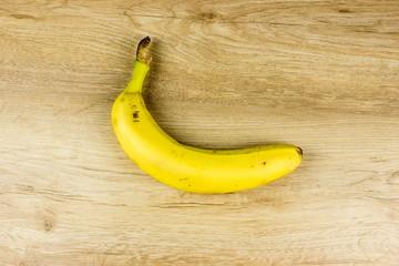 Yellow Banana. Fresh summer food concept. Vegetarian healthy diet