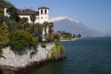 Le Palazzo Gallio dominant le Lac de Côme à Gravedona