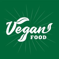 Vegan food. Vector and illustration.