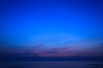 Beautiful sky at  twilight times for background