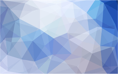 Light BLUE vector abstract perspective background.