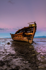 Photo sur Plexiglas Naufrage Janie Seddon ship wreck Abel Tasman New Zealand