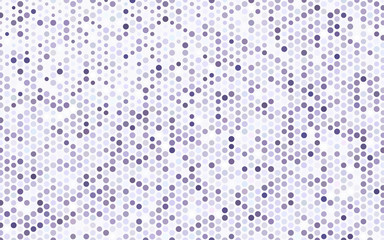 Light Purple vector illustration, which consist of circles.