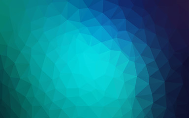 Light Blue, Green vector abstract mosaic backdrop.