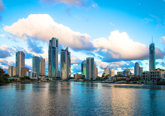 Surfers Paradise Skyline by Day