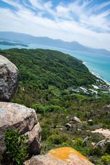 view from mount Tateishi above Itoshima, Fukuoka, Kyushu Japan