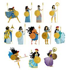 palas athena goddess collection