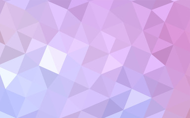Light Purple, Pink vector triangle mosaic cover.