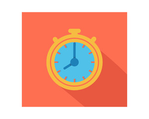 time clock business company office corporate image vector icon logo