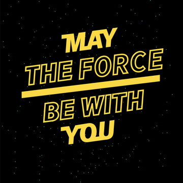 2019 may the force be with you for your seasonal leaflets and greeting cards or Christmas themed invitations.
