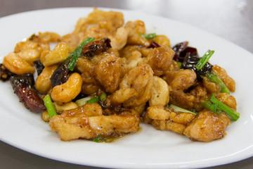 Fried Chicken with Cashew Nut