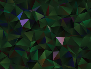 Modern polygonal abstract background. Low poly crystal pattern. Graphic resource for your backgrounds, wallpaper, screen savers, covers, print, business cards, posters.