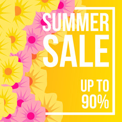 Summer sale flower blossom