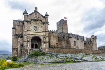 Medieval castle of Javier in Navarra. Spain