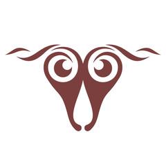 Sheep abstract sign