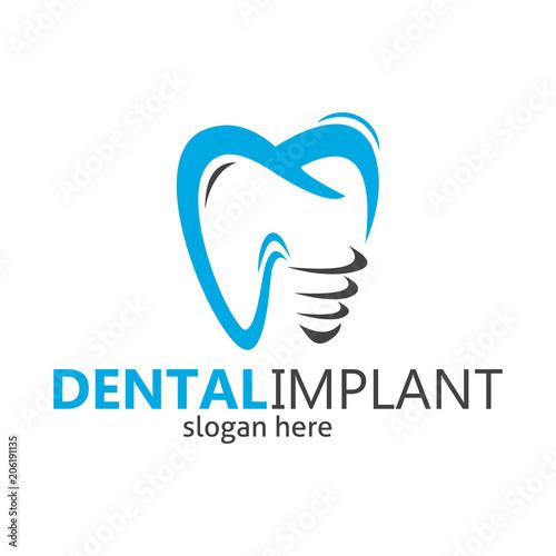 """dental braces logo, dental implant, dental logo design ..."