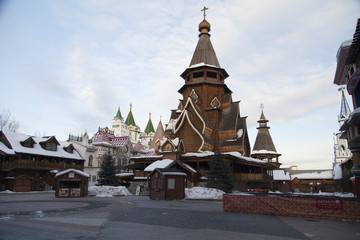 Ancient Russian buildings