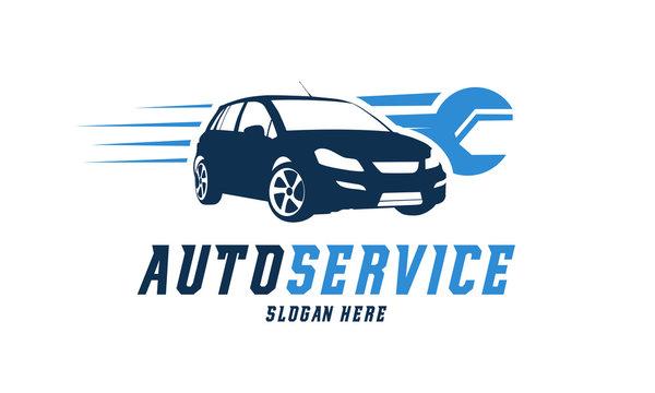 Automotive Service logo designs vector, Car Repair logo