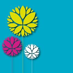 fond abstrait,carte fleur