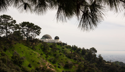 View of Griffith Observatory, Los Angeles