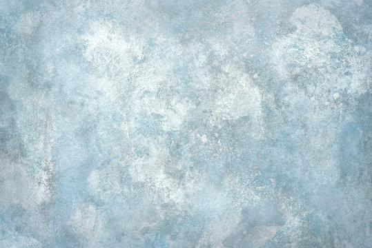 Light blue stone wall or floor.