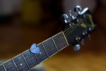 Loving sounds of acoustic guitar.