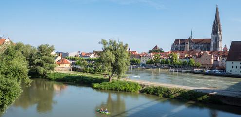 Panorama von Regensburg